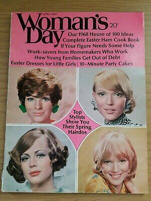 Vintage Womens Day April 1968 House of 100 Ideas Easter Ham Spring Hairdos - Spring Day Ideas