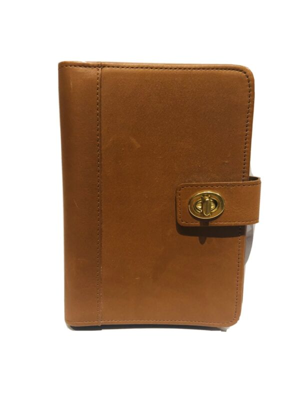 Vintage COACH Brown Leather Photo Book Album