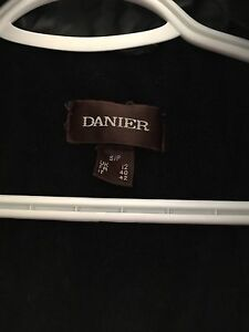 DANIER LONG LEATHER COAT