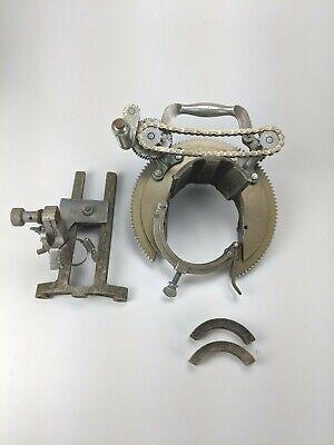 Mathey Dearman Saddle Pipe Beveling Machine 2 - 4 Manual Pipe Beveler