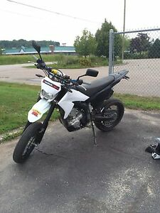 PRICE LOWERD Wr250x heavily modified 2009