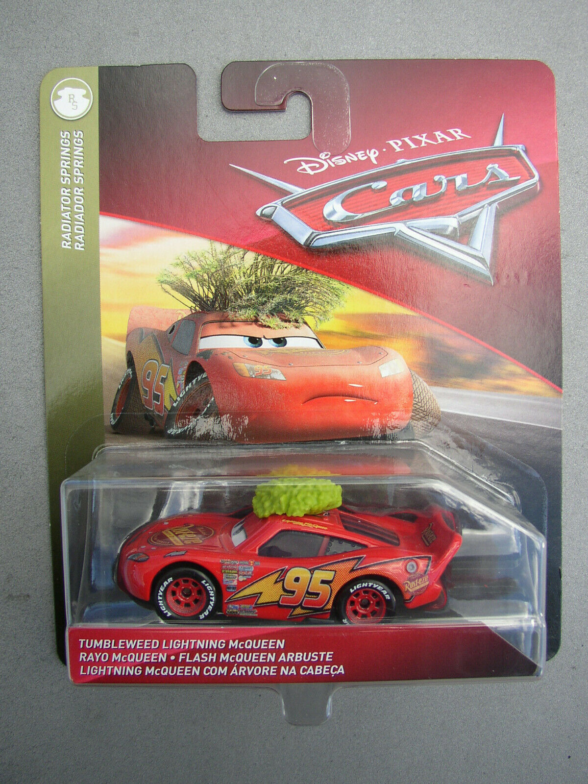 New 2019 Disney Pixar Cars Radiator Springs Tumbleweed Mcqueen 1 55