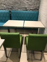 Restaurant tables,chairs, and benches for sale