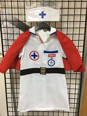 Ex ELC Nurse Costume Book Day Fancy Dress Outfit - Costume Book