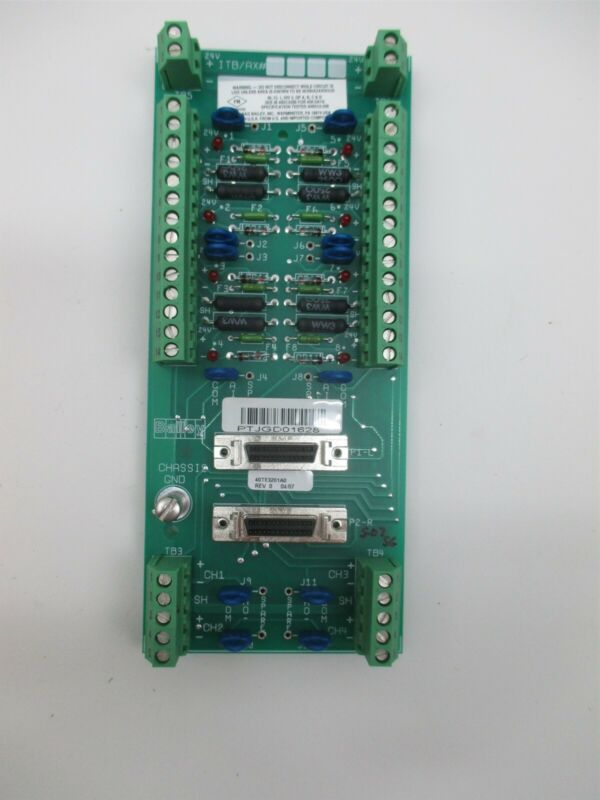 ABB ITB/AX 40TE3201A0 HART Bailey Chassis Control Board Module PLC Unit