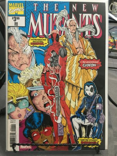 New Mutants #98 - NM The First Comic Appearance Of Deadpool