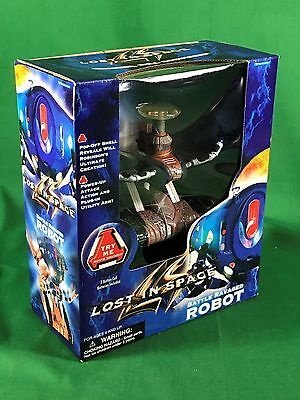 1997 Lost in Space Movie Battle Ravaged Robot With Sounds New in Box
