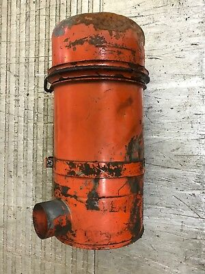 Case 530 Tractor Original Air Cleaner Assembly Oil Bath  Mid 1960s