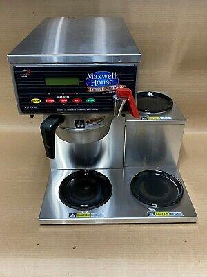 Curtis Alpha 3gt Commercial Coffee Maker 3 Burner Station Stainless 120v Flawed
