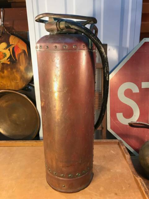 Br Fire Extinguisher Rustic