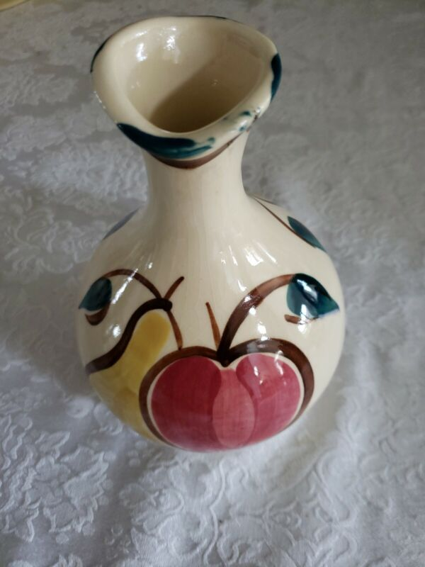 Purinton Pottery Apple /Pear Honey Pitcher