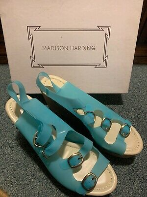 Madison Harding Veruca Platform Blue - Madison Platform
