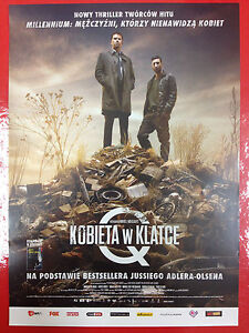 Nikolaj Lie Kaas Fares Fares - The Woman in the Cage - Polish promo FLYER - <span itemprop=availableAtOrFrom>Gdynia, Polska</span> - Nikolaj Lie Kaas Fares Fares - The Woman in the Cage - Polish promo FLYER - Gdynia, Polska