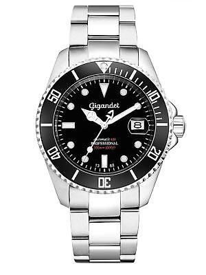 Gigandet Armbanduhr SEA GROUND Uhr Automatikuhr Herrenuhr Taucheruhr G2-002