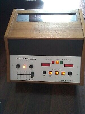 Scanna L5000 Electronic Mail Screening Metal Detector Security Retro Antique