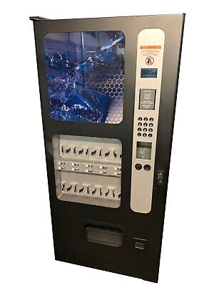 Usi Wittern 3500 Drink Vending Machine Cans Bottles Live Display Free Shipping