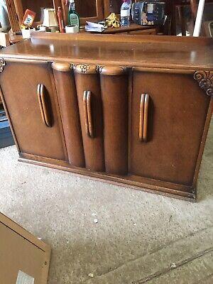C1950's  Vintage Old Decorative  Sideboard Cupboard  18/2/W