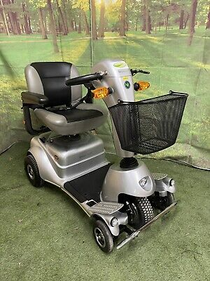 Beautiful Quingo Classic Large 4mph All Terrain Mobility Scooter 5 Wheel