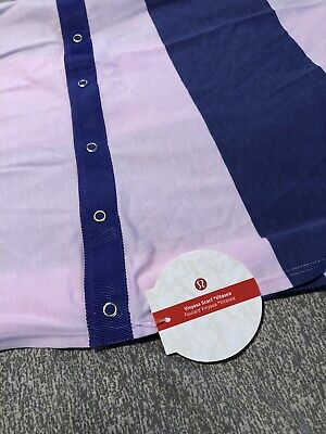 Lululemon Vinyasa Wrap Scarf Pink and Purple Snap New With Tags $48 retail