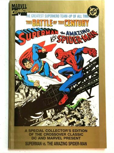 Superman vs Spider-Man Heroes & the Holocaust Treasury Reprint Marvel DC 1995