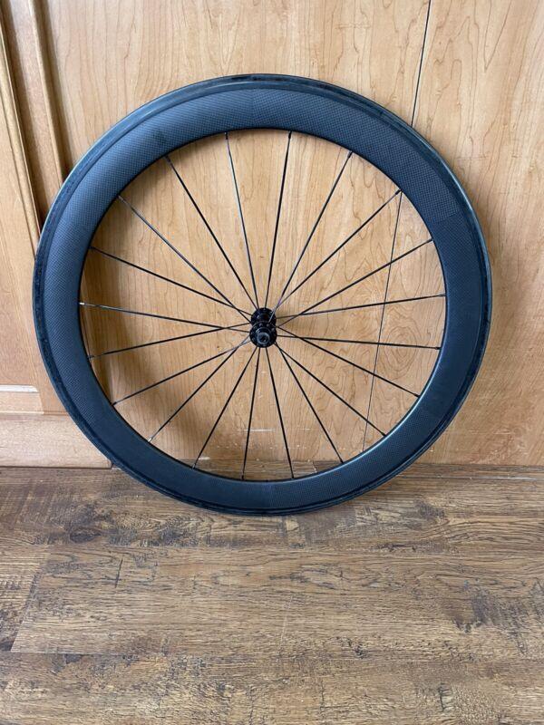 Novatec Carbon Clincher Front Wheel. Clincher, Rim Brake.
