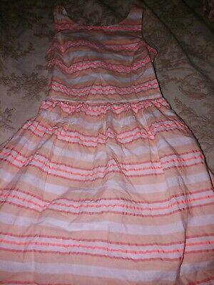 Nautica Girls Sz. 12 Crossback Dress. Cute, Runs Small (8/10). Cute!