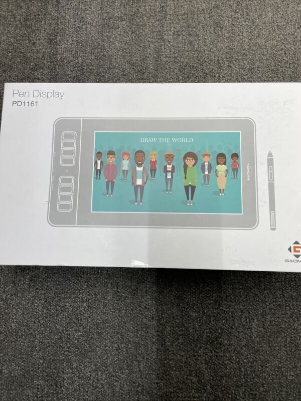 Goamon Pen Display Model Pd1161 Drawing Pad