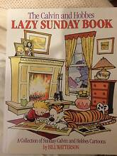 Calvin and Hobbes the Lazy Sunday Book Clayfield Brisbane North East Preview
