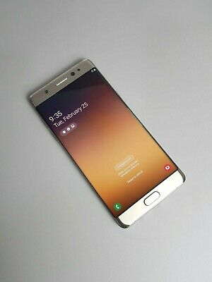 Samsung Galaxy Note FE 64GB Single SIM- Gold (Unlocked) *Excellent Condition*