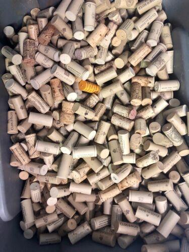 Natural Used Wine Corks Lot of 100 Corks - Crafts