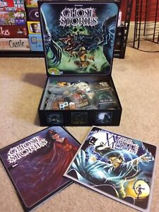 Board Game Ghost Stories + White Moon expansion