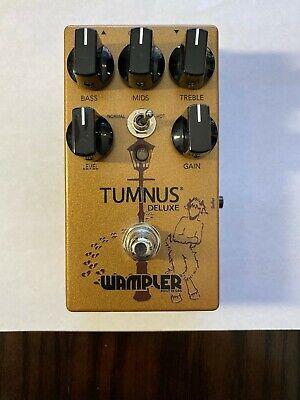 Wampler Tumnus Deluxe Transparent Overdrive Guitar Effect Pedal
