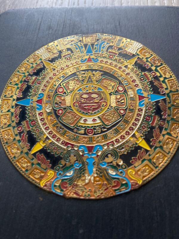 Stone Sun | Aztec Calendar Made In Mexico