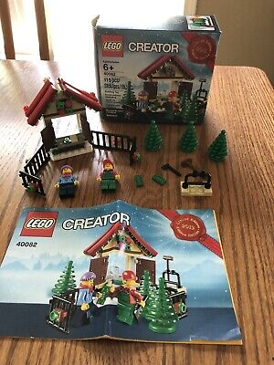 Complete - Lego #40082 Creator Christmas with Box and Instructions