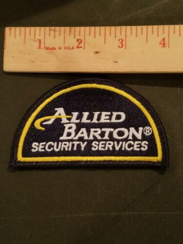 ALLIED BARTON SECURITY SERVICES PATCH