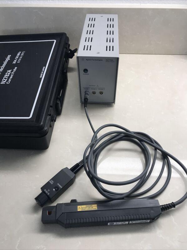 Agilent N2779A Power Supply + N2782A 30A 10:1 Current Probe