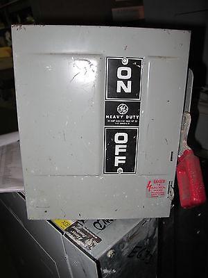 Ge Thn3361 30 Amp 600 Volt 3 Pole Nema 1 Disconnect Model 4