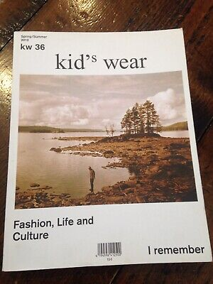 KID'S WEAR MAGAZINE VOLUME 36 SPRING SUMMER 2013 fashion life culture](Kids Fashion Magazines)