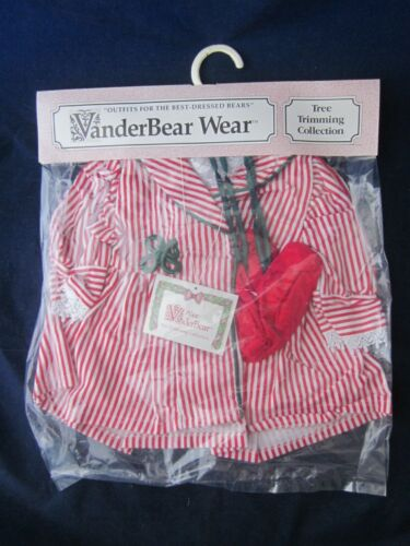 MUFFY VANDERBEAR Tree Trimming Alice Outfit VINTAGE NEW