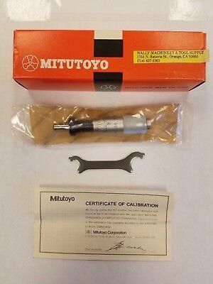 Mitutoyo 149-812 Micrometer Head Carbide-tipped 0-0.5 Range 0.001 G 1-c0001j
