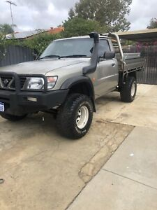 2001 Nissan Patrol Dx (4x4) 5 Sp Manual 4x4 Coil C/chas