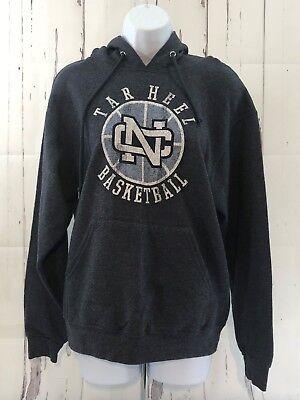 North Carolina Tar Heel Basketball Blue Hoodie Adult Medium Pullover Sweatshirt (Tar Heel Blue)
