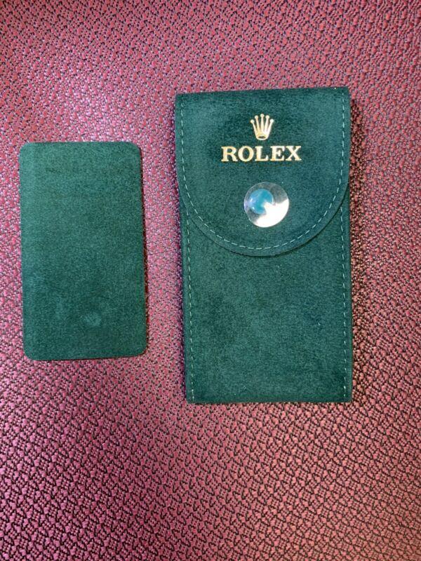 Genuine Rolex Pouch Case Travel Storage With INSERT DIVIDER