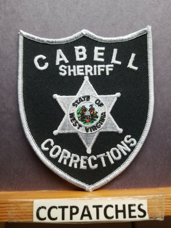 CABELL COUNTY, WEST VIRGINIA SHERIFF CORRECTIONS (POLICE) SHOULDER PATCH WV