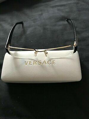 VERSACE eyeglasses & case 1140 1002