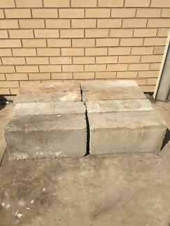 Concrete Blocks Semaphore Park Charles Sturt Area Preview