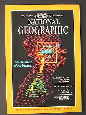 National Geographic   Medicines New Vision  January 1987