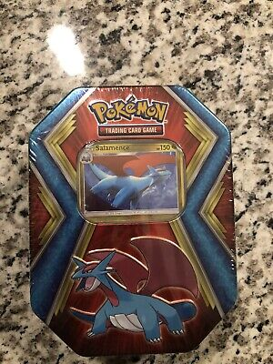 Pokemon Salamence Tin Sealed New Trading Card Game 2020