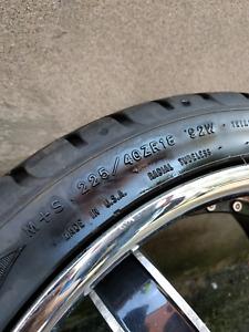 """18"""" Inch Mags / Wheels RTX Titanium"""