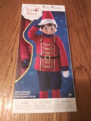 THE ELF ON THE SHELF SUGAR PLUM SOLDIER CLAUS COUTURE ELF OUTFIT NEW NO DOLL